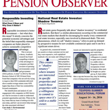 National Real Estate Investor: Shadow Tenancy
